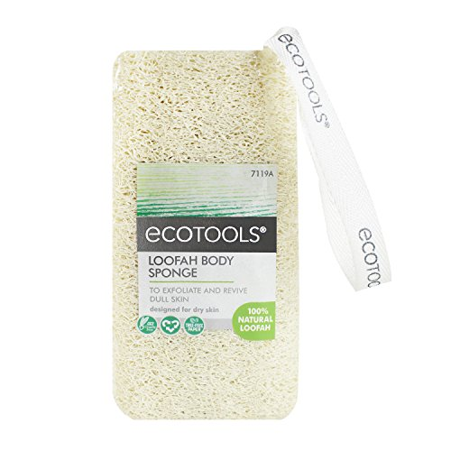 Ecotools Cruelty Free and Eco Friendly Loofah Body Sponge (Pack of 3)
