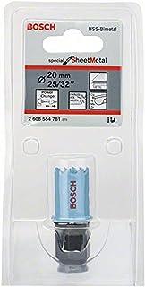 Bosch Professional 2608584781 Sheet Metal holesaw, Black/Blue, 20 mm