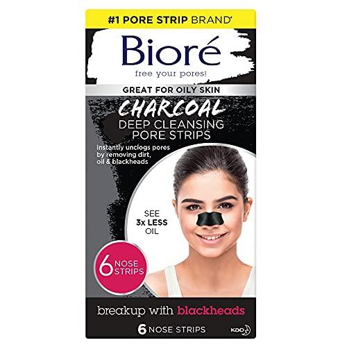 Bioré Charcoal Pore Strips - Pack of 6