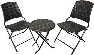 武田コーポレーション 【ガーデン・庭・テーブル&チェアセット】 折りたたみガーデン3点セット GY T3