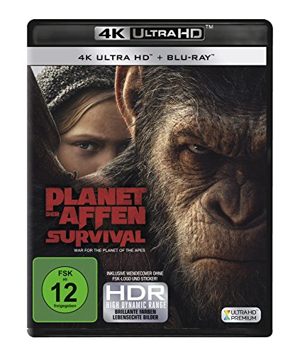 Planet der Affen: Survival (4K Ultra HD) [Blu-ray]