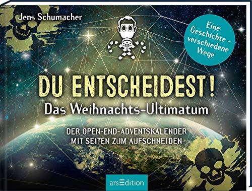 Du entscheidest! Das Weihnachts-Ultimatum. Das Original: Der Open-end-Adventskalender von Jens Schumacher - für alle Fans von Escape-Spielen: Der Open-End-Adventskalendermit Seiten zum Aufschneiden