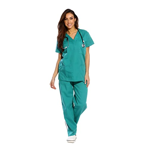 93782b1f9c5 Just Love Women's Scrub Sets Six Pocket Medical Scrubs (V-Neck with Cargo  Pant