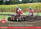 Rasenmäherrennen - Spaß und Action auf dem Acker (Wandkalender 2021 DIN A4 quer)