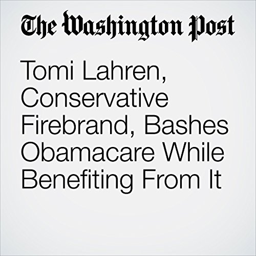 Tomi Lahren, Conservative Firebrand, Bashes Obamacare While Benefiting From It copertina
