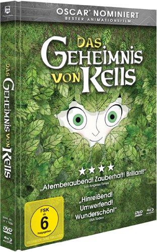 Das Geheimnis von Kells - Collectors Edition Mediabook [DVD und Blu-ray] [Collector's Edition]