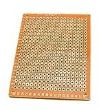 heacker 10pcs / Set de Circuito Impreso PCB Junta de Bricolaje de Soldadura de la Placa de Tablero electrónico de Gaza Stripboard