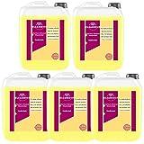 Cleanerist - Detergente líquido premium con aroma de vainilla, 5 x 5 litros, hasta 550 lavados, color blanco y negro