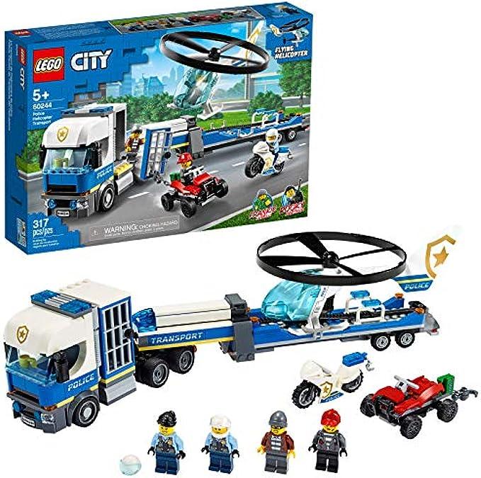 (new 2020)  הובלה הליקופטר משטרתי 60244 LEGO City