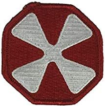 Embroidered Patch - Patches for Women Man - US Army Eighth 8TH United States Army Field EUSA YONGSAN South Korea