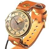 渡辺工房 手作り腕時計 手作り腕時計 GIGANT B Rev 逆回転(受注制作) [NW-JUM129REV] (キャメル)