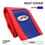 xr 50 seat cover - Motorcycle Gripper Seat Cover Rubber Soft Skin Covers For Honda XR/CRF 50 XR50 CRF50 and many other chinese pit bikes 50 70 90 110cc Dirt Pit Bike Off Road - Blue Color