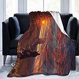 Red De-ad Red-em-Ption 2 Ultra Soft Anti-Pilling Flannel Blanket Throw Blanket All Season Warm Plush Cozy Soft Blankets 40X50''/50X60''/60X80''