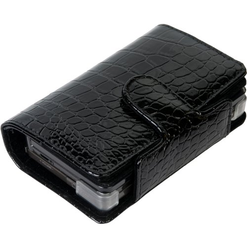 CTA Digital Nintendo 3Ds Leather Cradle Case and Cartridge Holder