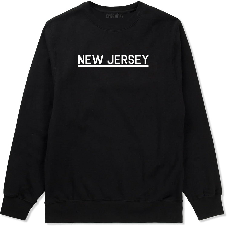 Kings Of NY New Jersey USA State Crewneck Sweatshirt