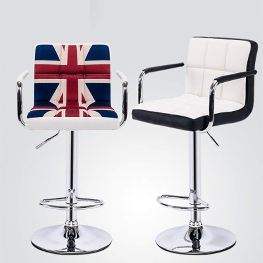 Chaise de bureau d'ordinateur - tabouret haut de type canapé avec élévation pivotante, confortable et doux-8 9