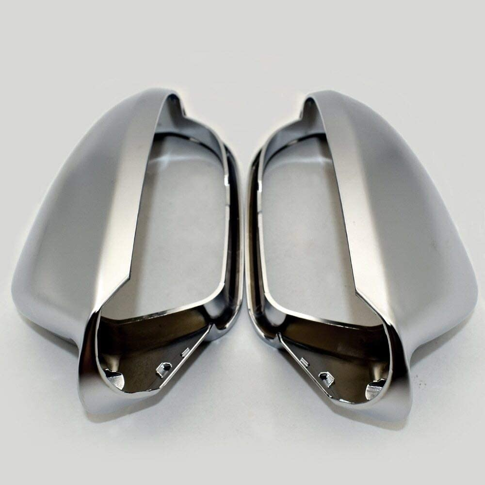 RKRLJX Fit for Free shipping Audi A6 S6 C7 4G Finally resale start Wing Covers Sil Caps Mirror Side