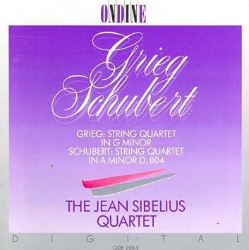 Grieg, E.: String Quartet in G Minor / Schubert, F.: String Quartet No. 13