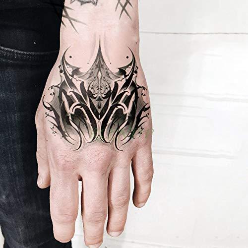 5 Piezas Etiqueta engomada del Tatuaje Número de Letra en inglés Tatto Flash Tatoo Arm Instep Tato Girl Female Men Tattoo 5pcs 9