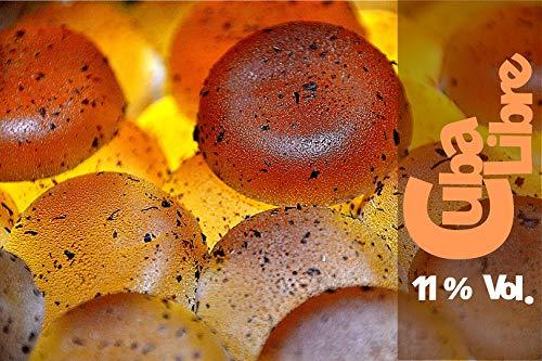 150g - bedizzy - alkoholischer Fruchtgummi - 11,0% vol. Alkohol (Cuba Libre)