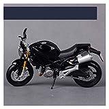1:12 para Ducati Monster 696 Motocicleta Bike Modelo Adulto Juguetes para Niños (Color : 2)