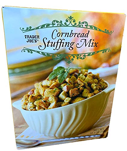 packaged stuffing side dishes Trader Joe's Cornbread Stuffing Mix 12.4Oz(352g)