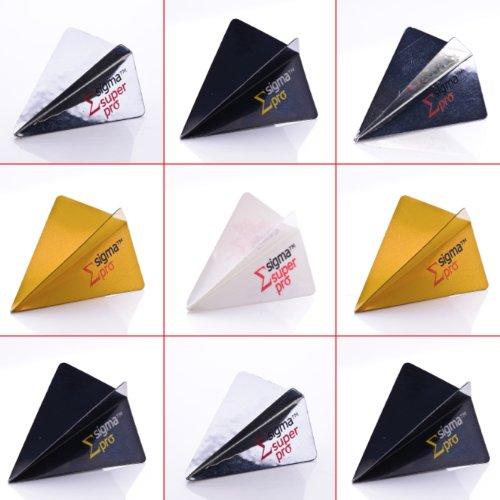 5 x gemischt Sets of Sigma Original Dart Flights Sigma Form
