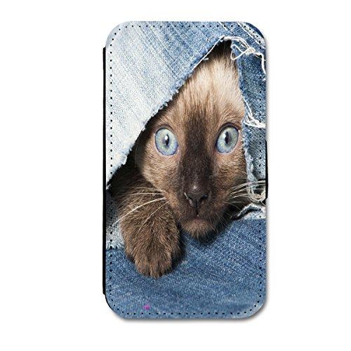 sw-mobile-shop Book Style Flip Handy Tasche Case Schutz Hülle Schale Motiv Etui für Huawei Ascend Y330 - Flip A39 Design9 - 2