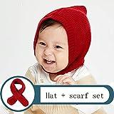MC-BLL-Baby cap Sombrero de bebé Otoño e Invierno Niños y niñas Sombrero de Lana Bebé...