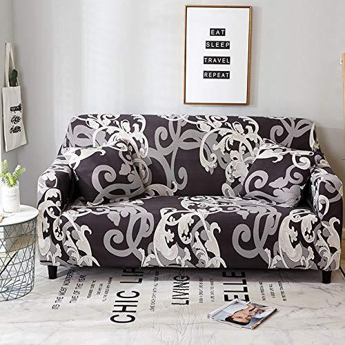 PPOS Nuevas Fundas de sofá elásticas universales para Sala de Estar, Muebles elásticos, Fundas de sillón, Funda seccional para sofá, A6, 1 Asiento, 90-140cm-1pc