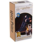 Kit de tejer de Harry Potter Wizarding World   Kit de tejer de calcetines y manoplas de Hogwarts Ravenclaw Slouch por Eaglemoss Hero Collector