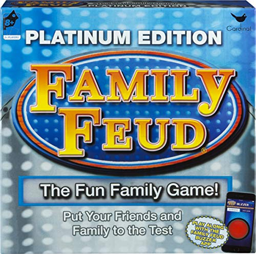 Spin Master Platinum Family Feud Signature Game,...