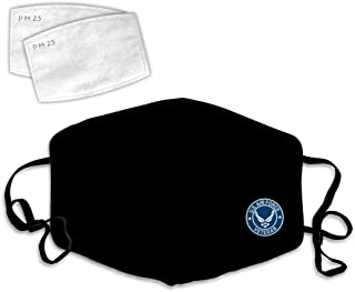 Face Cover 3D USA Logo Anti-Dust Mask Windproof Cover Adjustable Elastic Strap