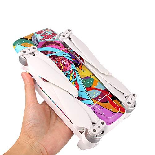 ACHICOO Xiao-mi FI-MI x8 se PVC Aufkleber schützende Haut für Xiao-mi FI-MI x8 se Drone zubehör 6-kohlenstoffrot