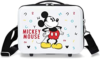 Mickey Style Letters Adaptable Beauty Case