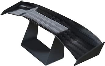 1 Pcs Mini Spoiler Auto Car Tail Decoration Spoiler Wing Carbon Fiber by