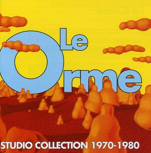 Le Orme Studio Collection 1970-1980, 2 CD