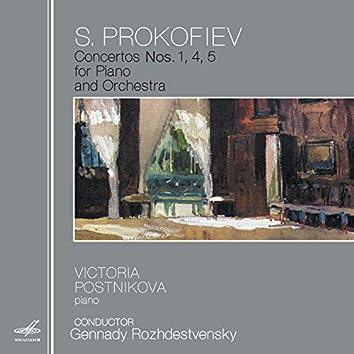 Prokofiev: Concertos Nos. 1, 4 & 5