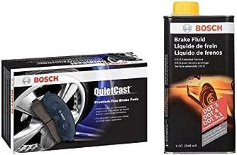 Bosch BC1044 QuietCast Brake Pad Set and next generation Brake Fluid