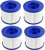 Filtros de repuesto para spa Wave Spa, filtro de tornillo para Jacuzzi Spa hinchable para spa Cosy para Aqua para Clever Costway para Aquaparx spa para...