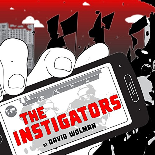 The Instigators audiobook cover art