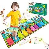 BOXYUEIN Baby Spielzeug 1 Jahr, Musikinstrumente Spielzeug ab 2 3 4 5 Jahre Weihnachten Geschenk für Kinder Mädchen Baby Geschenk Junge Spiele ab 2-3 Jahre Spielzeug für Draußen Tanzmatte