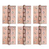 Cerniere per porte a tenuta idraulica robuste Cerniere per angoli quadrati Anti-ruggine 6 pezzi per porte familiari per finestre familiari