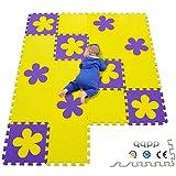 qqpp Alfombra Puzzle para Niños Bebe Infantil - Suelo de Goma EVA Suave. 18...