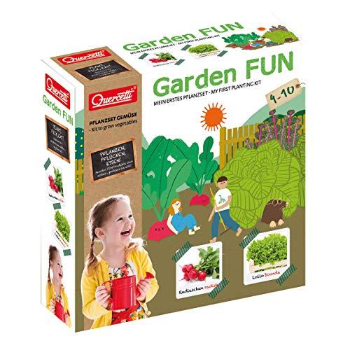 beluga Spielwaren 0680D Garden FUN Anzuchtset Radieschen/Salat 0680D-Garden Pflanzset, Natur