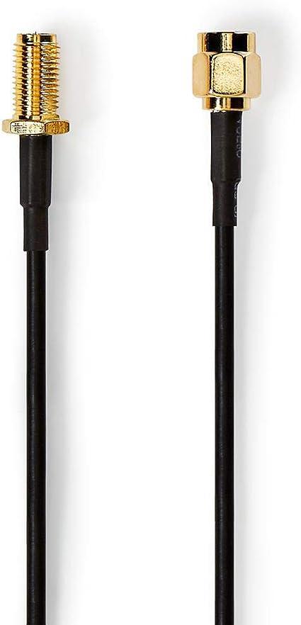 Invero Cable coaxial de conexión SMA macho a SMA hembra RG58 ...