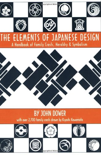 Elements of Japanese Design: Handbook of Family Crests, Heraldry and Symbolism