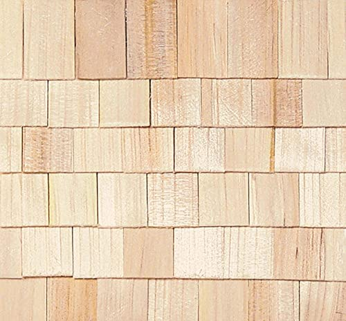 factorydirectcraft Bulk Unfinished Square Butt Shingles Cheap mail order shopping Ranking integrated 1st place - H Doll