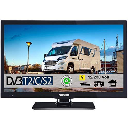 Telefunken T22X720I MOBIL LED Fernseher (B-Ware) 22 Zoll DVB/S/S2/T/T2/C USB 12V 230V