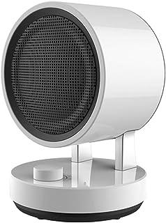 Radiador eléctrico MAHZONG Ventilador eléctrico de 1500 W, calefacción 2S Ultra silenciosa, protección contra vuelcos y sobrecalentamiento, hogar y Oficina